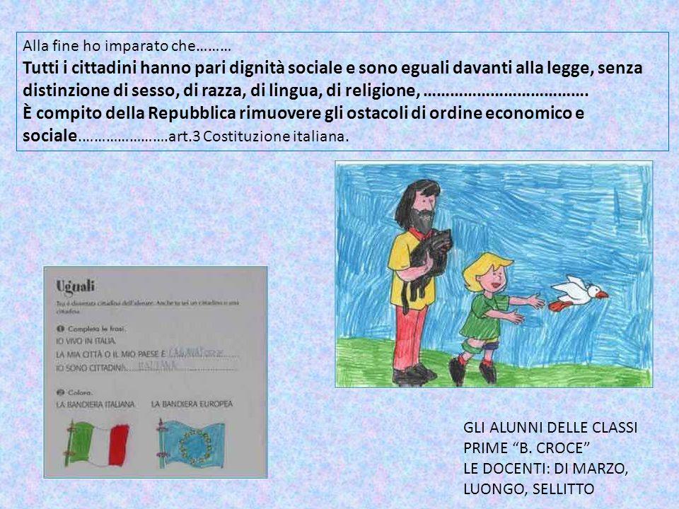 La bandiera italiana Nella Costituzione allart.