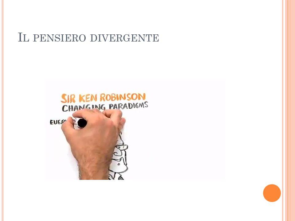 I L PENSIERO DIVERGENTE