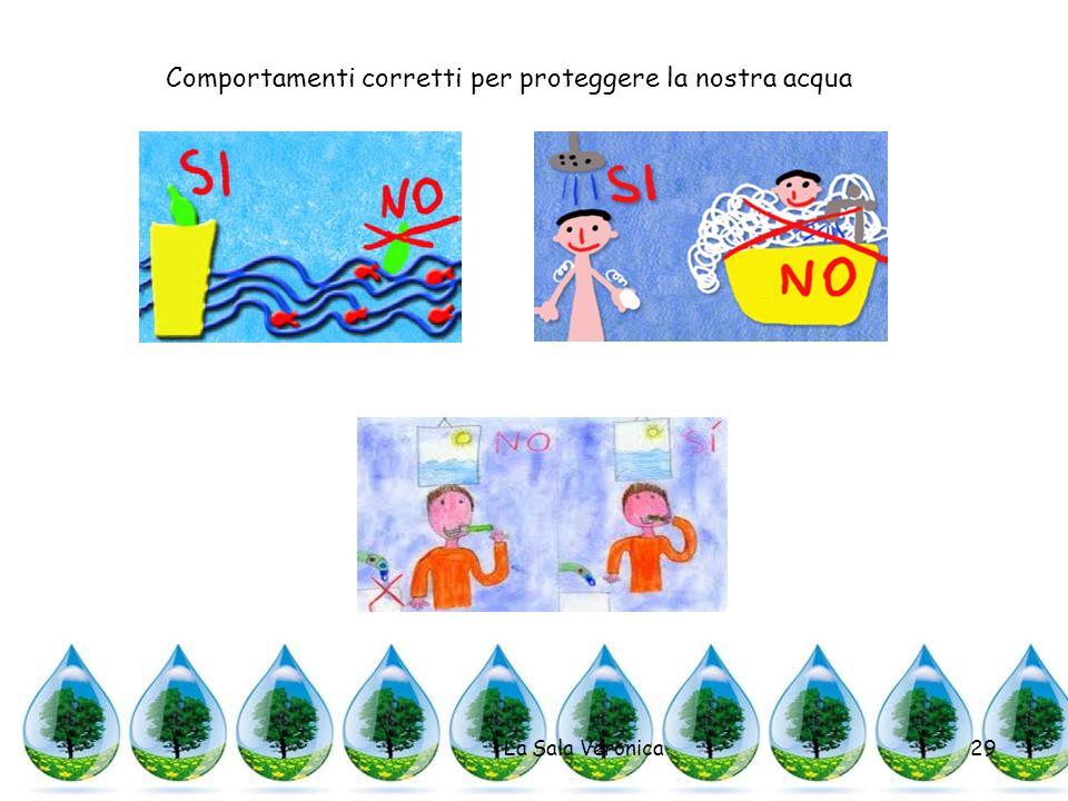 La Sala Veronica29 Comportamenti corretti per proteggere la nostra acqua