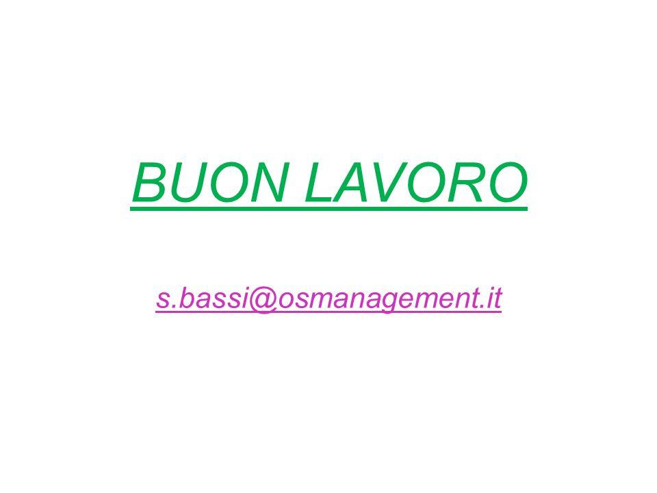 BUON LAVORO s.bassi@osmanagement.it