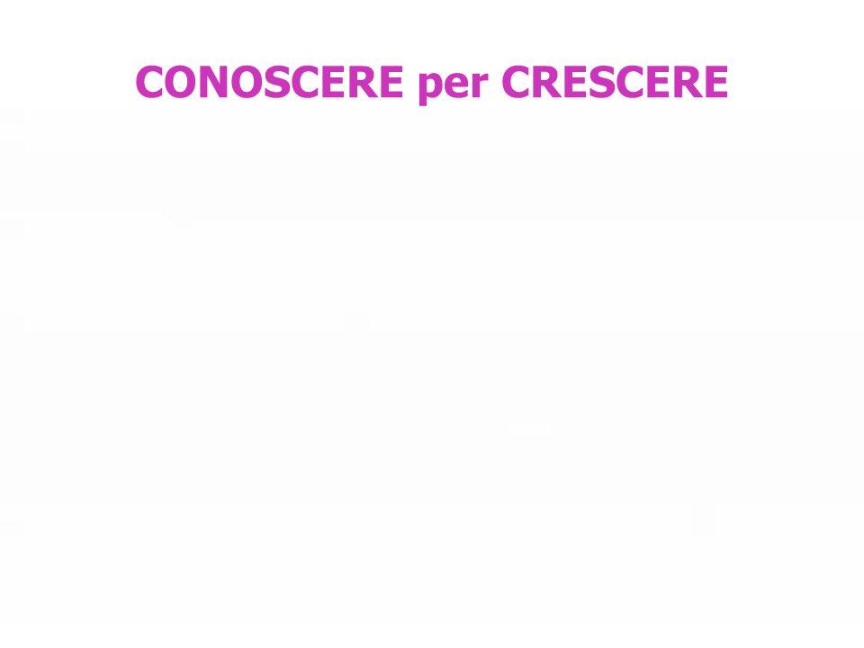 CONOSCERE per CRESCERE