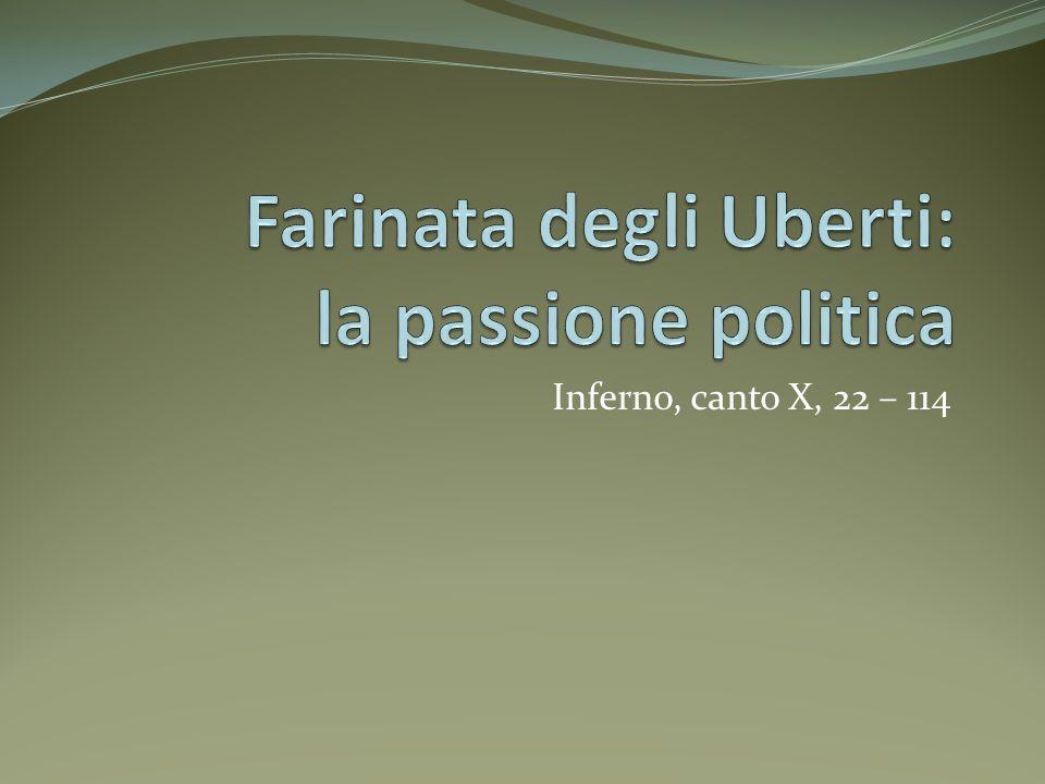 Chi fu Farinata degli Uberti Manente degli Uberti, noto come Farinata per il colore dei suoi capelli, fu il capo dei ghibellini di Firenze dal 1248 al 1258, quando quel partito dominò la città.