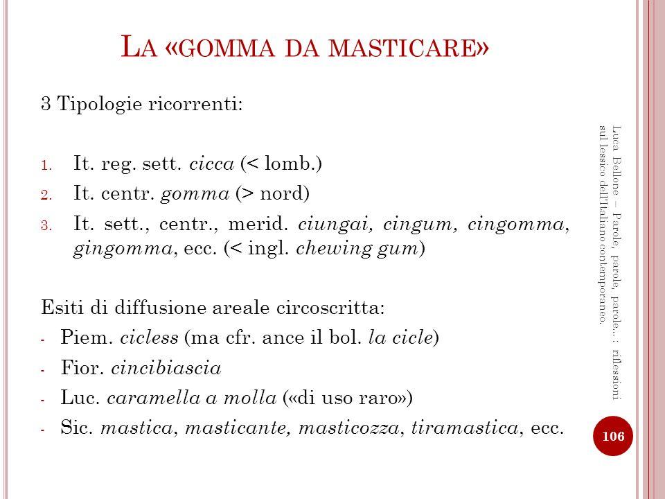G EOSINONIMI – C RITERI DI CLASSIFICAZIONE E TIPOLOGIE [1] Vari parametri per la classificazione dei geosinonimi.