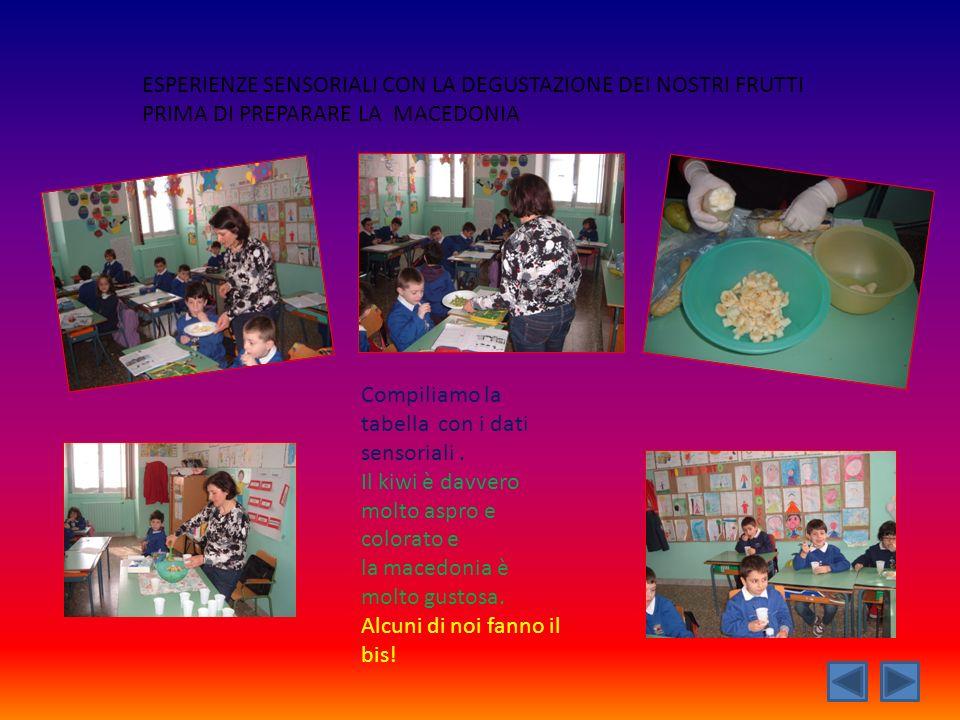 Produciamo un testo regolativo Come preparare unottima macedonia.