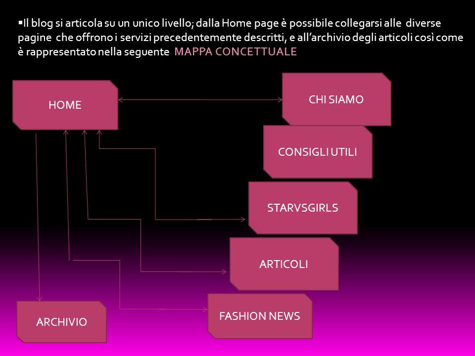 HOME STARVSGIRLS ARTICOLI CHI SIAMO CONSIGLI UTILI ARCHIVIO FASHION NEWS Il blog si articola su un unico livello; dalla Home page è possibile collegar