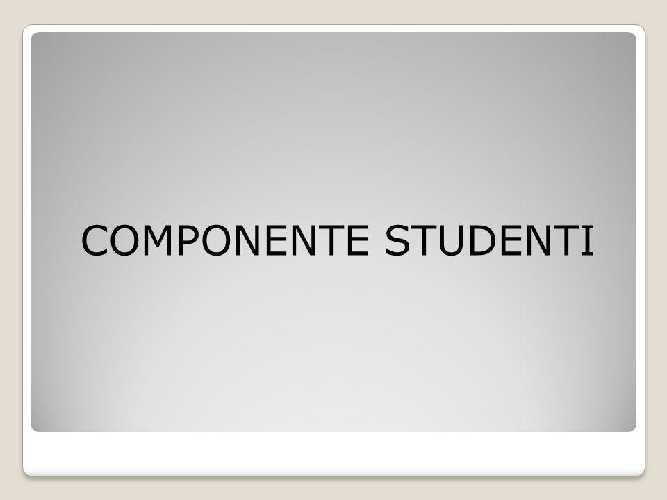 COMPONENTE STUDENTI