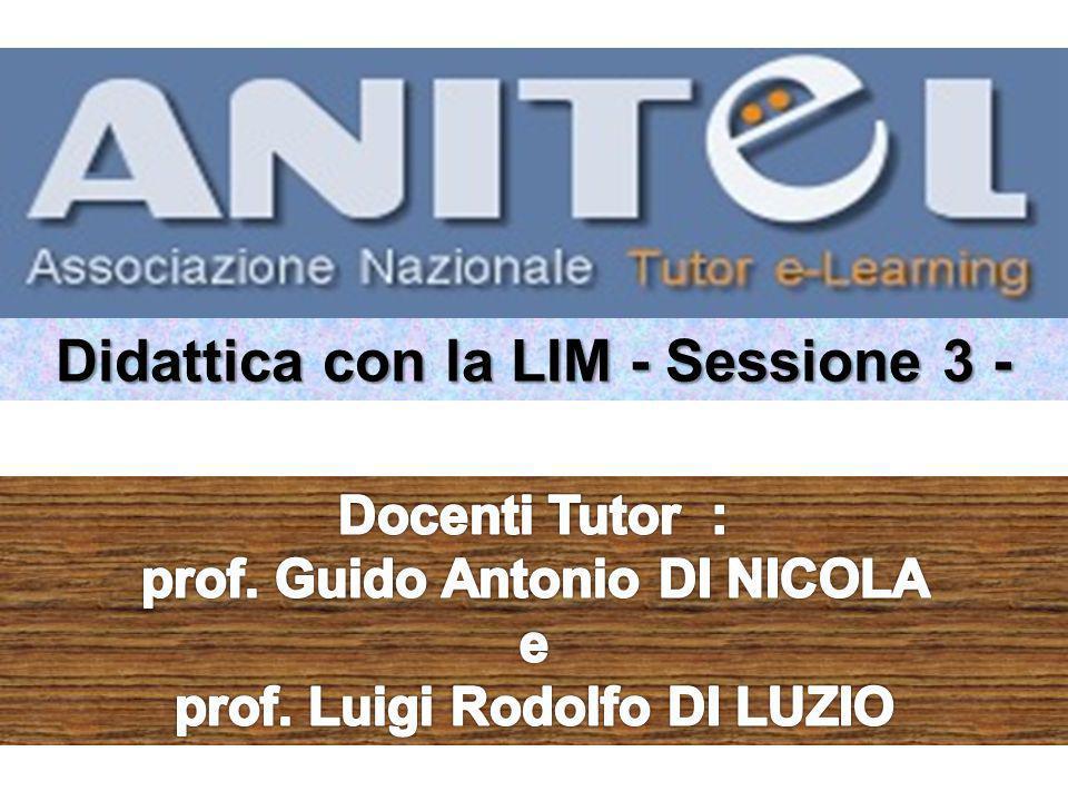 Didattica con la LIM - Sessione 3 -