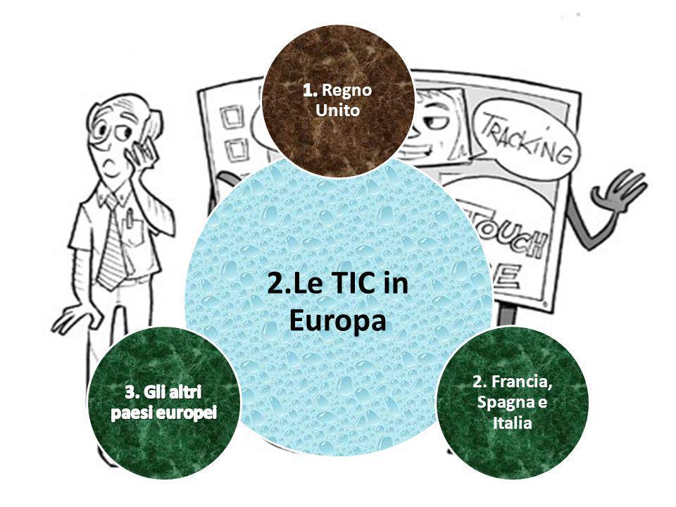 2.Le TIC in Europa 2. Francia, Spagna e Italia