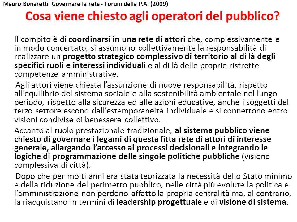 Mauro Bonaretti Governare la rete - Forum della P.A.