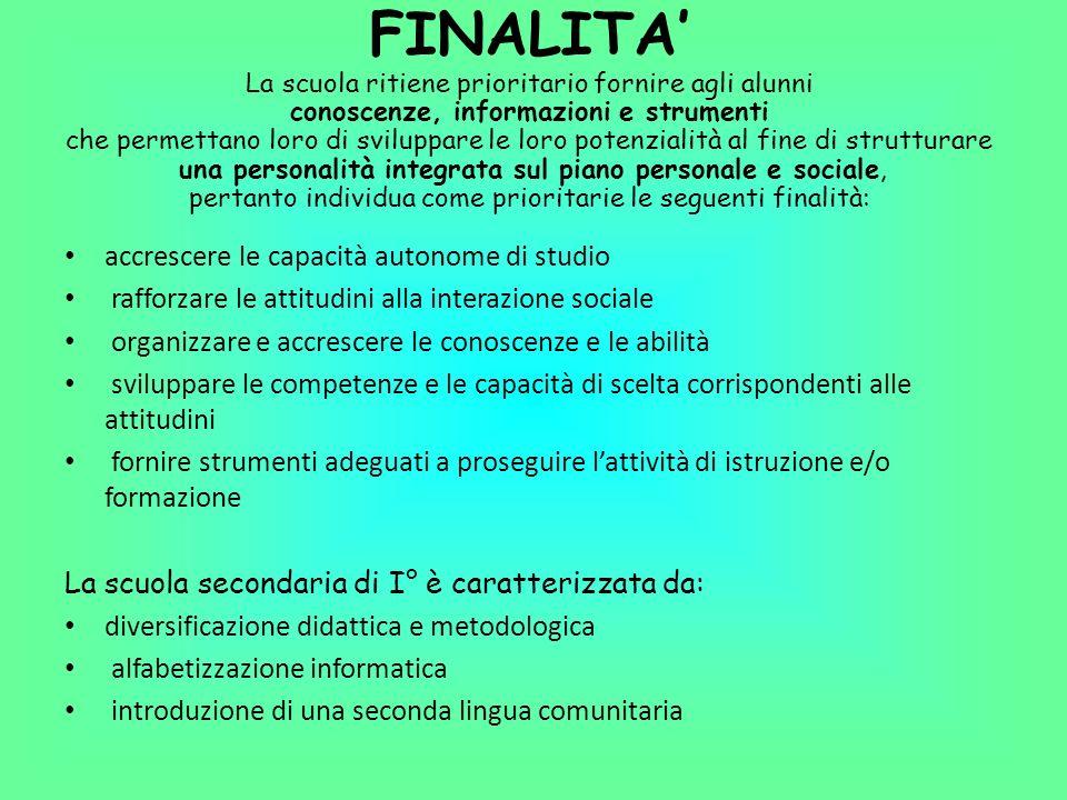 DISCIPLINE CURRICOLARI OBBLIGATORIE Italiano 7 spazi nel T.P.