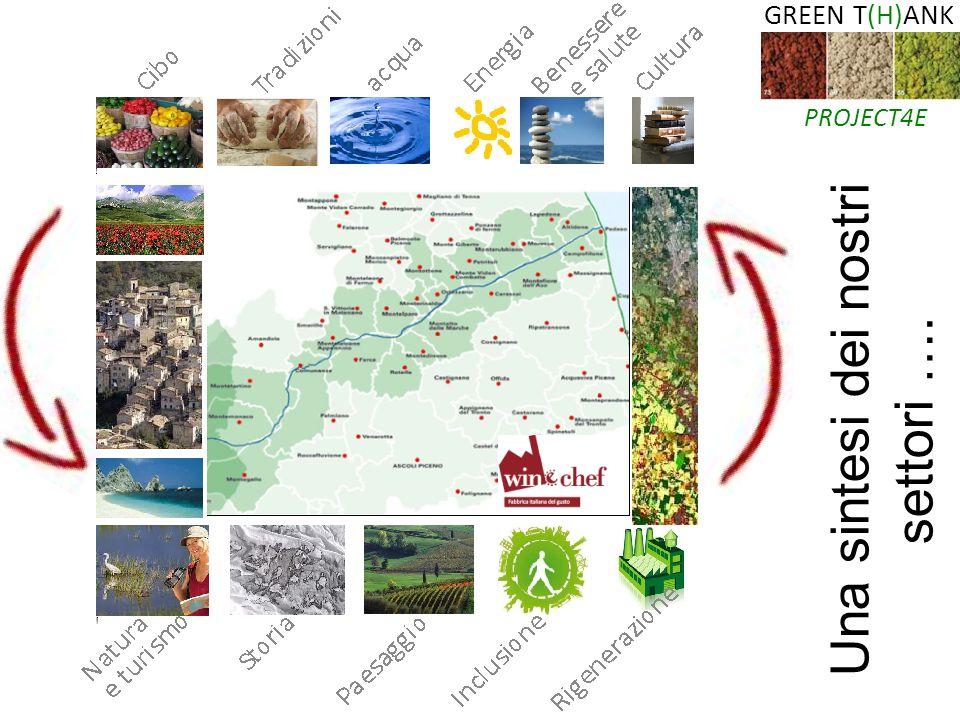 GREEN T(H)ANK PROJECT4E Una sintesi dei nostri settori ….