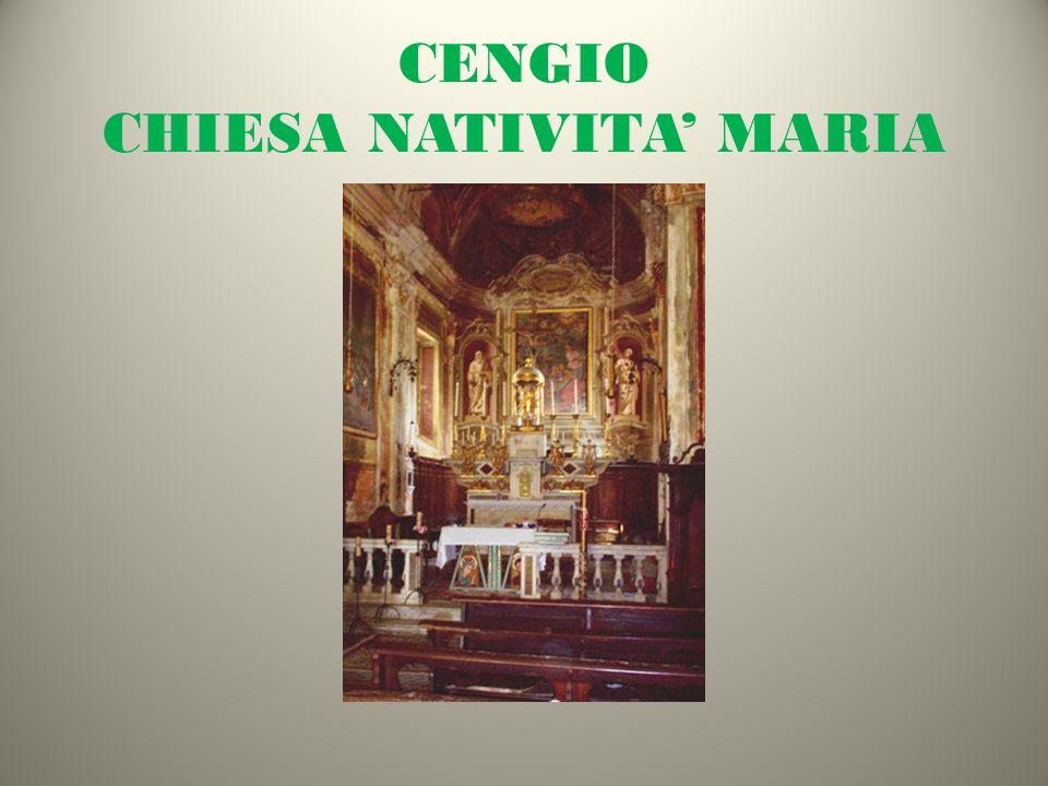 CENGIO CHIESA NATIVITA MARIA