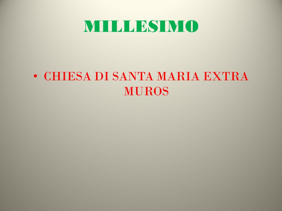 MILLESIMO CHIESA DI SANTA MARIA EXTRA MUROS