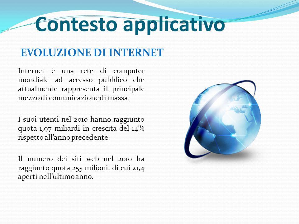 Internet è una rete di computer mondiale ad accesso pubblico che attualmente rappresenta il principale mezzo di comunicazione di massa.