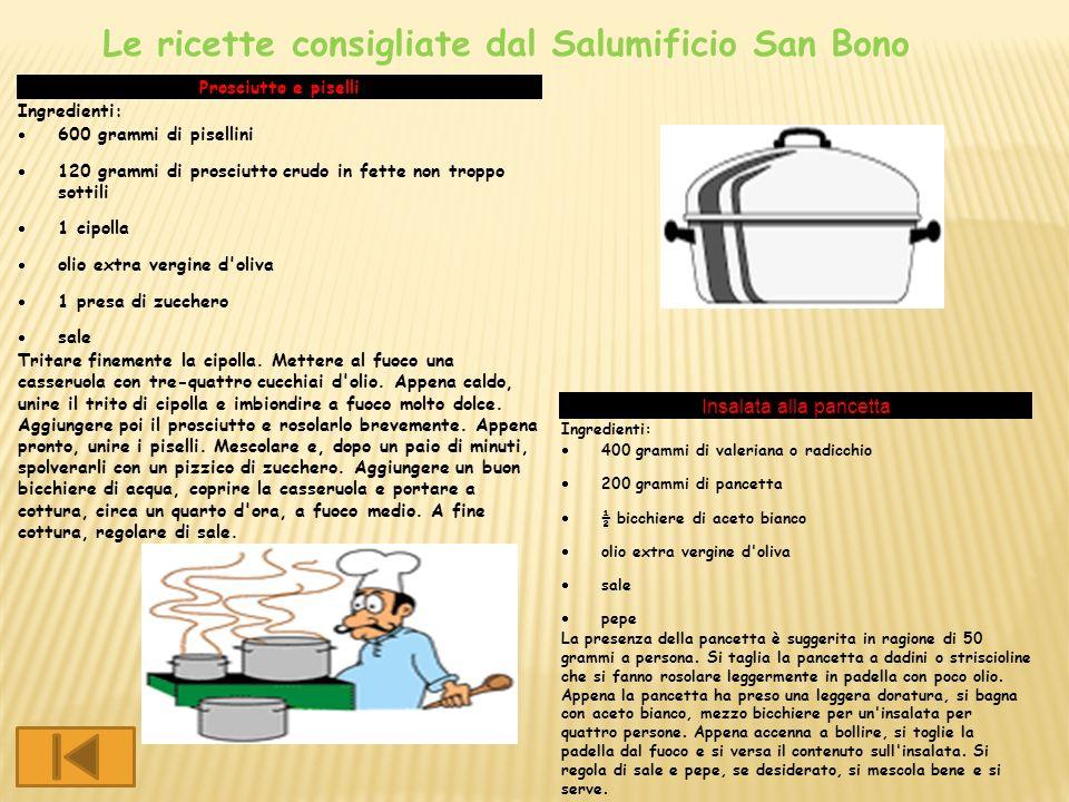 Prosciutto e piselli Ingredienti: 600 grammi di pisellini 120 grammi di prosciutto crudo in fette non troppo sottili 1 cipolla olio extra vergine d'ol