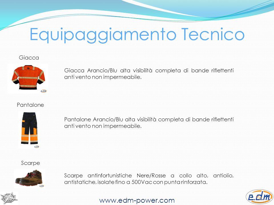 Equipaggiamento Tecnico Giacca www.edm-power.com Giacca Arancio/Blu alta visibilità completa di bande riflettenti anti vento non impermeabile.
