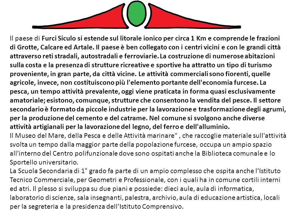 Mi chiamo Marco, ho 13 anni e frequento la scuola media di Furci Siculo.