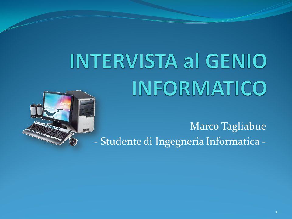 STUDENTE STATO LIBERO XXXXXX DESIO (MB) ITALIANA TAGLIABUE MARCO 14 / 02 / 1990 DESIOMB 1,78 Mt CASTANI Marco Tagliabue G.