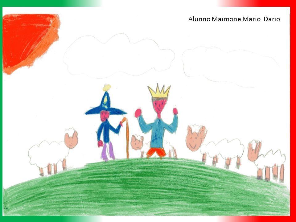 Cerano una volta due bambine ed un bambino che erano molto amici fra loro e si chiamavano Rossa, Bianca e Verde che avevano il potere di colorare tutto quello che toccavano con il rosso, il bianco e il verde.