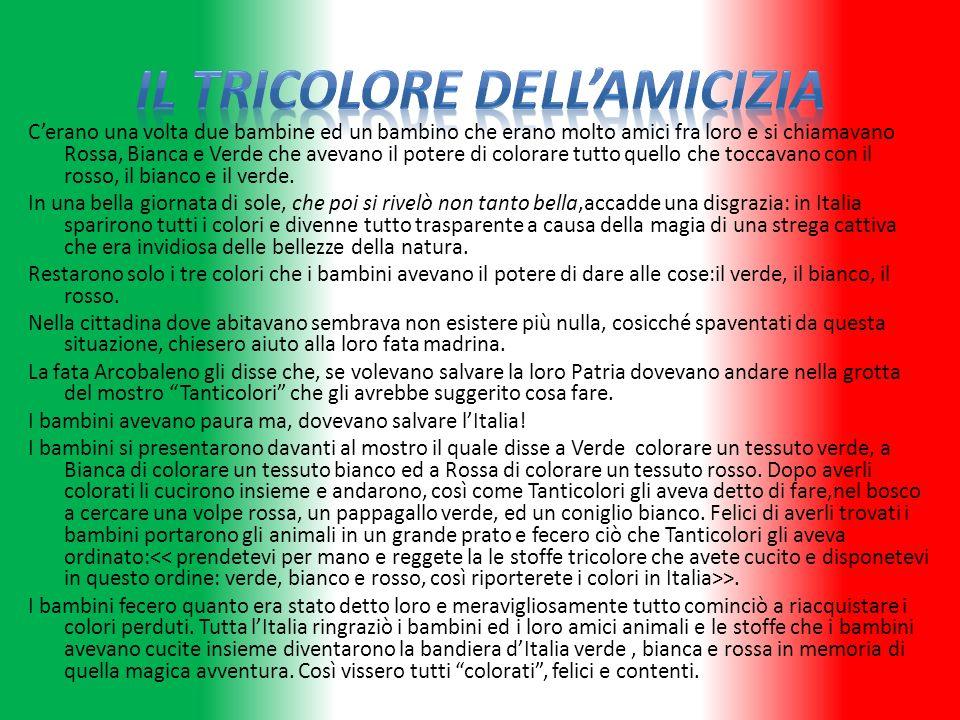 Italia Adoro il tricolore perché è nel mio cuore.