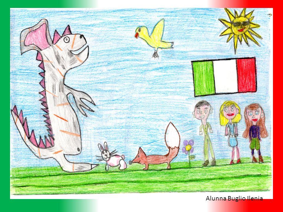 Tanto tempo fa, lItalia era divisa in tanti regni ciascuno dei quali aveva una bandiera di colore diverso tanti quanti sono i colori dellarcobaleno.