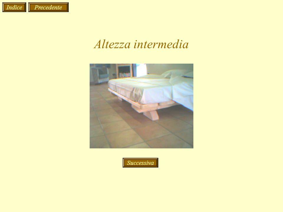 Altezza intermedia IndicePrecedente Successiva