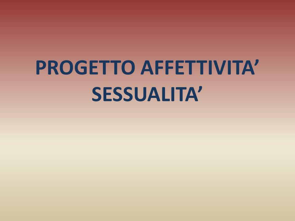 PROGETTO AFFETTIVITA SESSUALITA