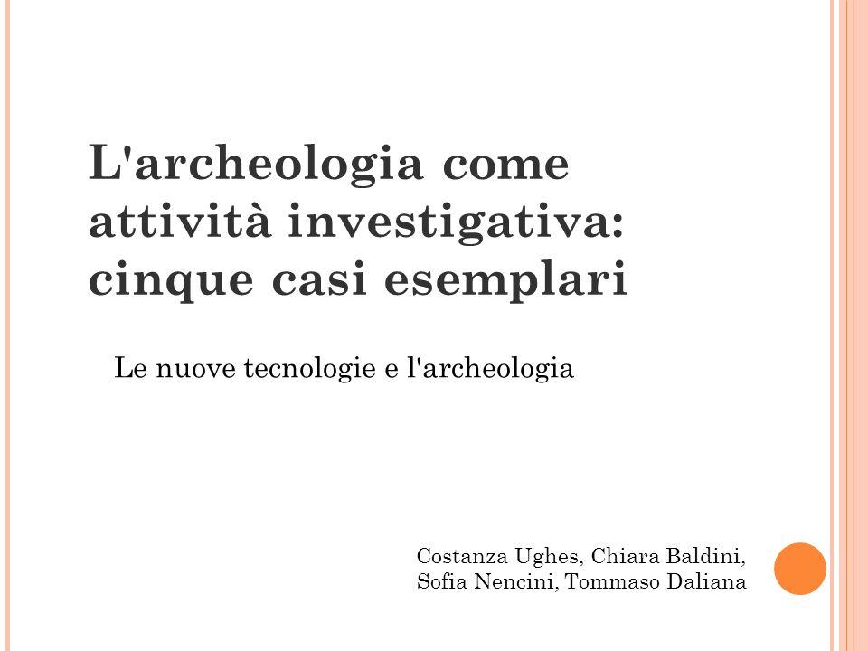 Gli studiosi D.Ferro e E.