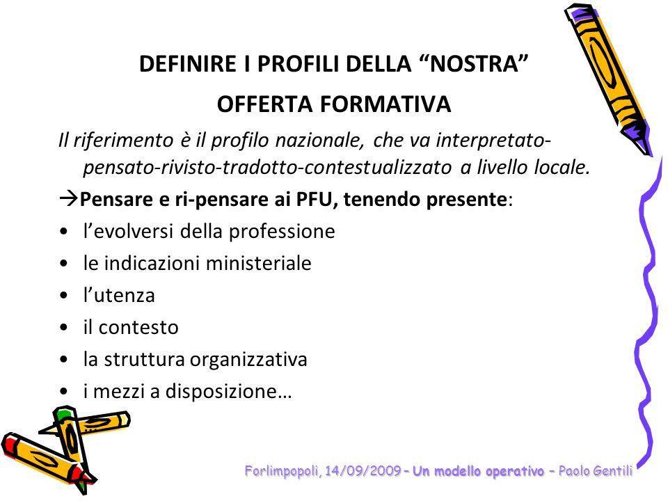Forlimpopoli, 14/09/2009 – Un modello operativo – Paolo Gentili COMPETENZE LINGUE – griglia autovalutazione