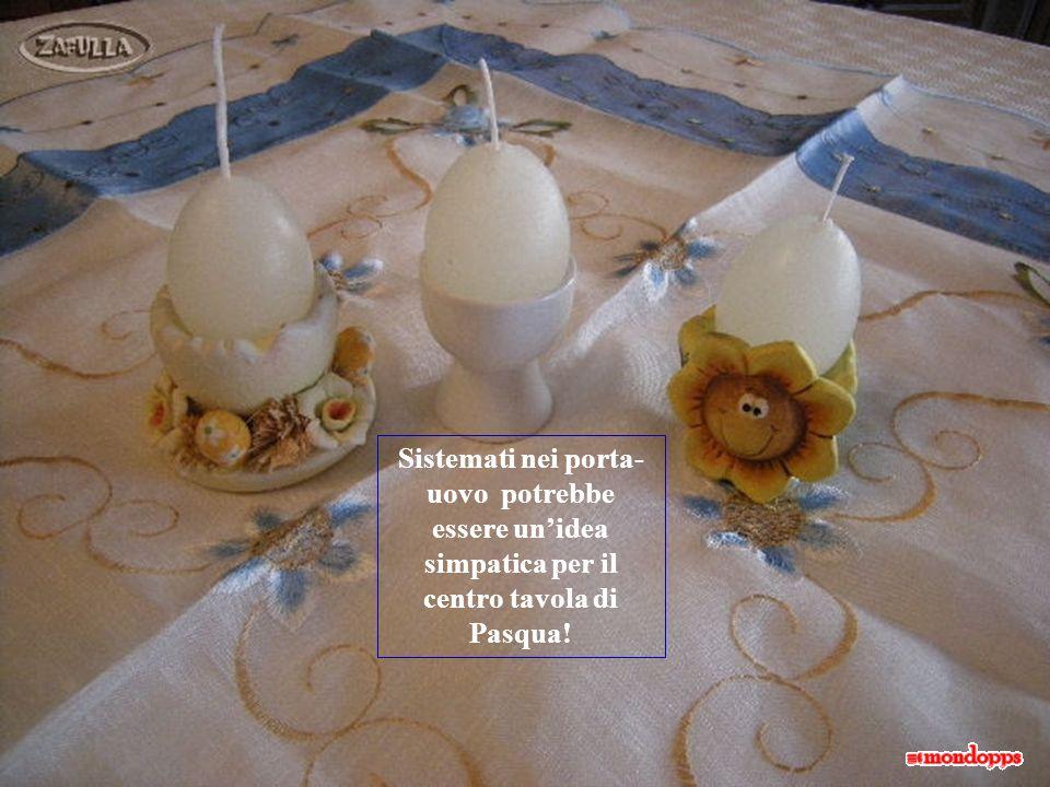 Lasciate raffreddare completamente e poi togliete i gusci. Sembrano davvero uova sode!