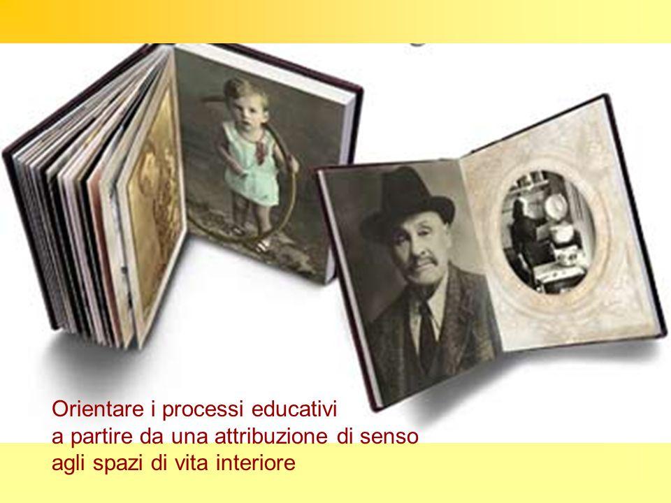 Orientare i processi educativi a partire da una attribuzione di senso agli spazi di vita interiore