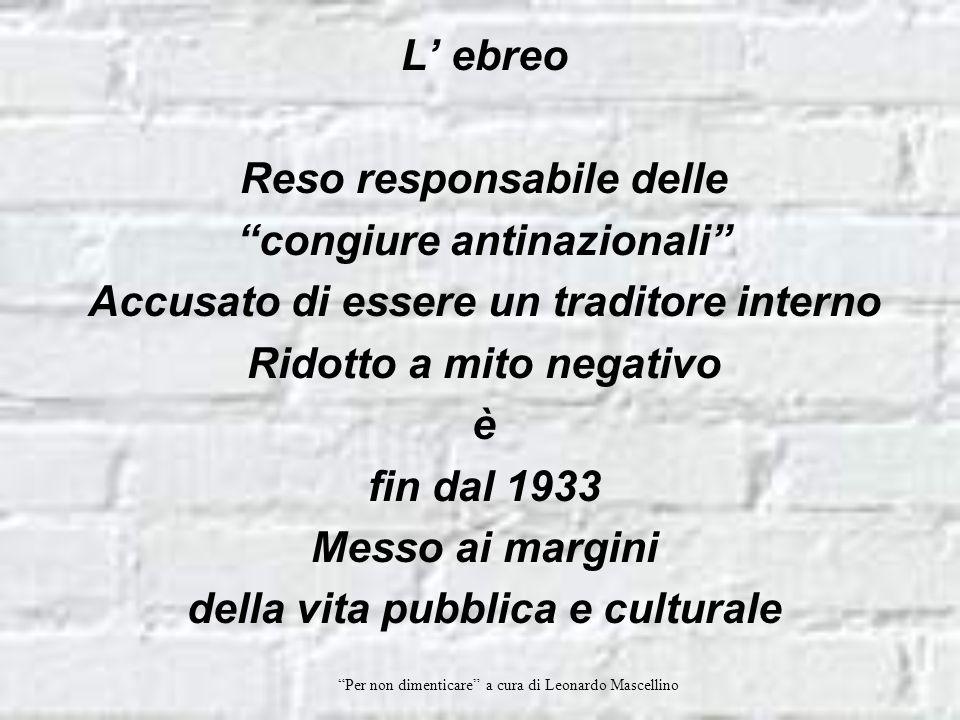 Per non dimenticare a cura di Leonardo Mascellino L importanza di questa breve composizione, che dura non più di trenta minuti, sta nella visione di speranza che si trova alla base della storia molto fanciullesca ed intuitiva.
