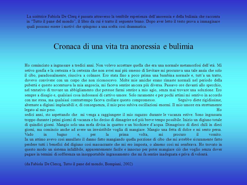 Cuore di ciccia Susanna Tamaro ha scritto un romanzo destinato soprattutto ai bambini grassi. Michele, il protagonista, è un bambino sovrappeso ossess