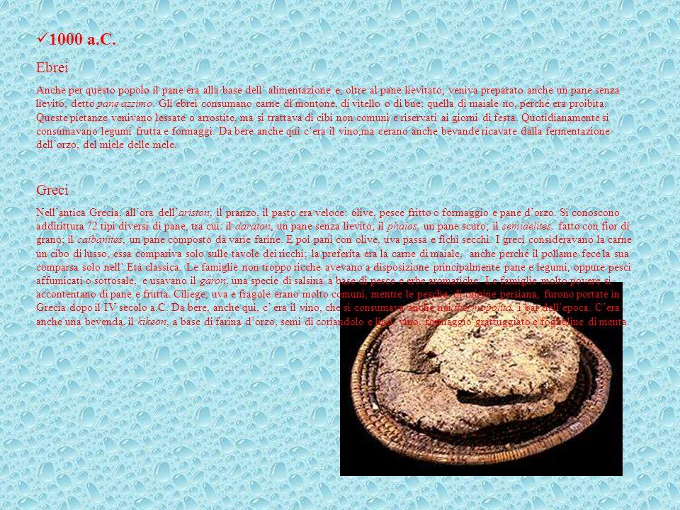 Storia dellalimentazione Preistoria Il pasto tipo degli uomini primitivi, per noi che viviamo nel XXI secolo, potrebbe essere poco attraente: termiti,