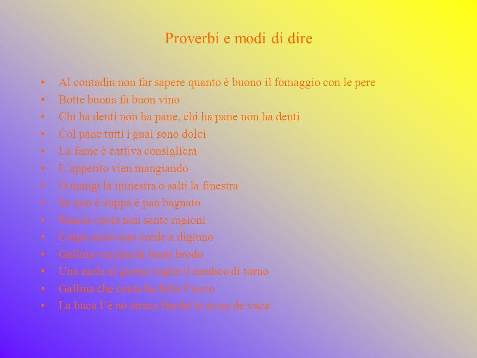 Vocabolario aggiornato in tema di alimentazione Fast food: trad.