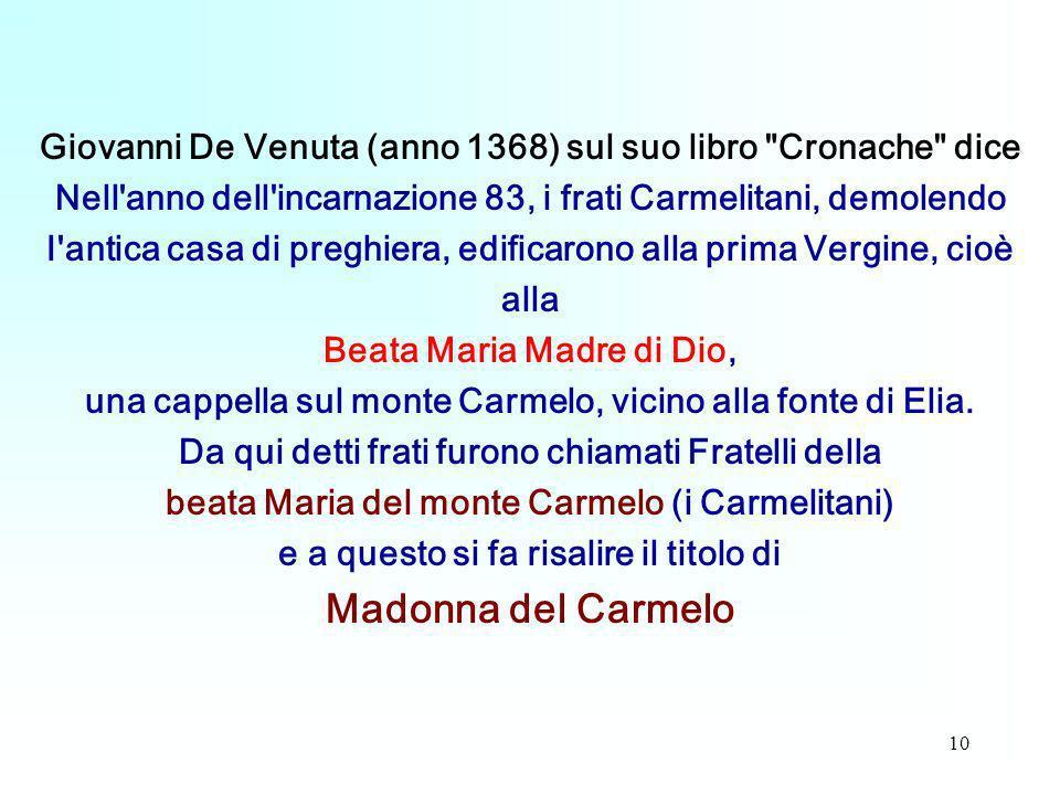 10 Giovanni De Venuta (anno 1368) sul suo libro