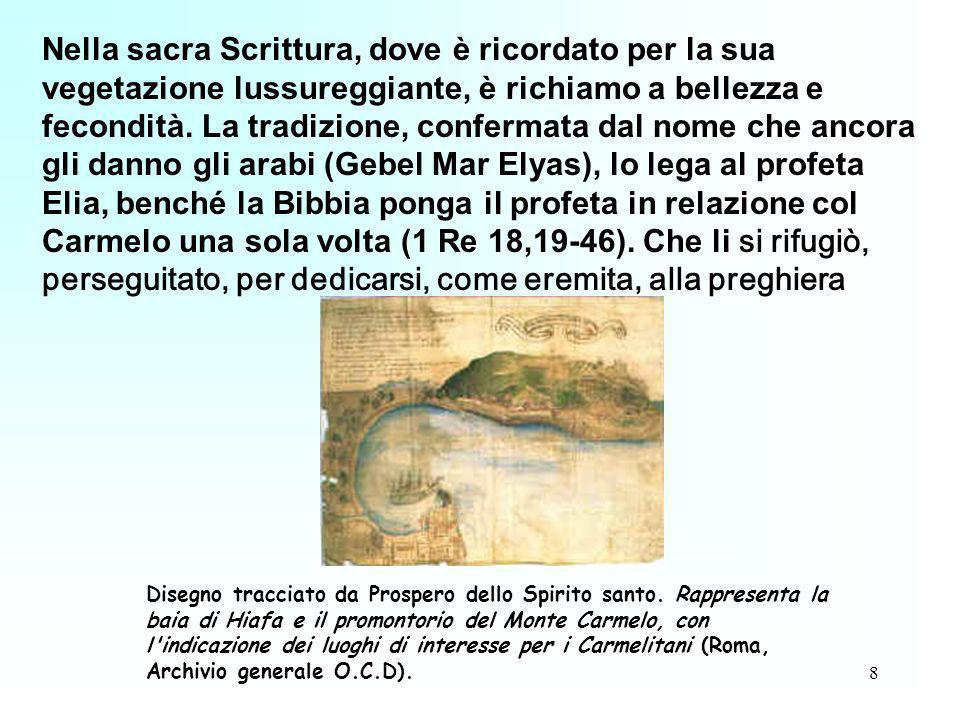 8 Nella sacra Scrittura, dove è ricordato per la sua vegetazione lussureggiante, è richiamo a bellezza e fecondità. La tradizione, confermata dal nome