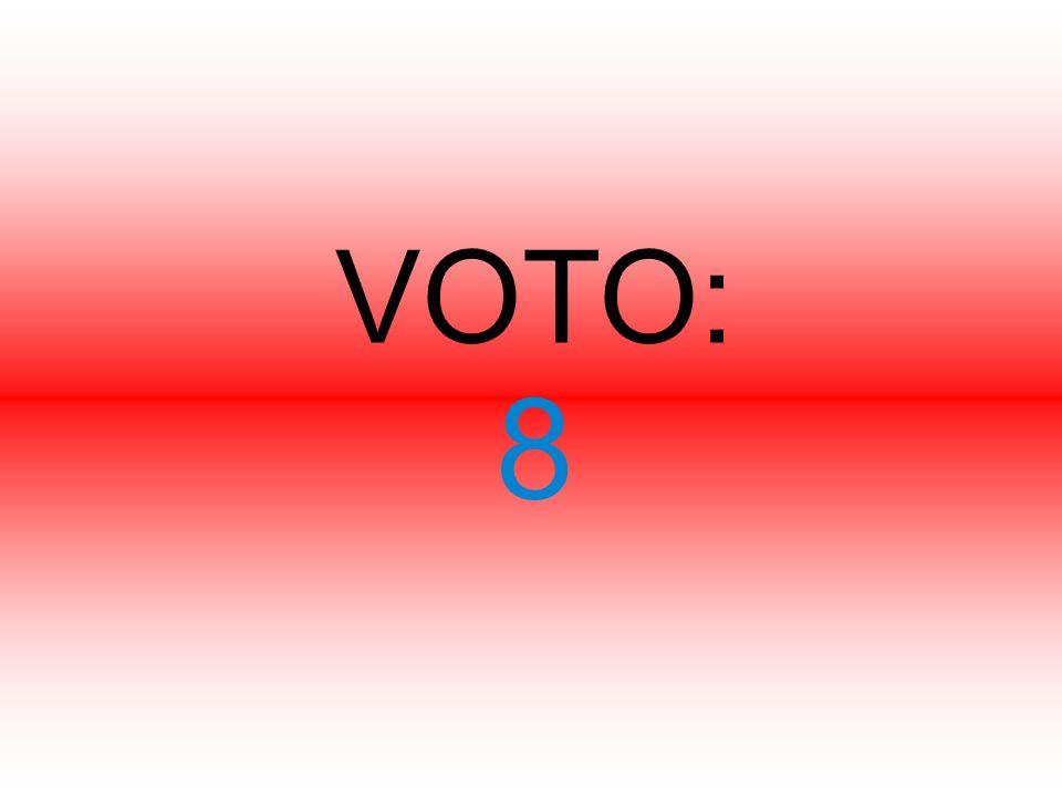 VOTO: 8
