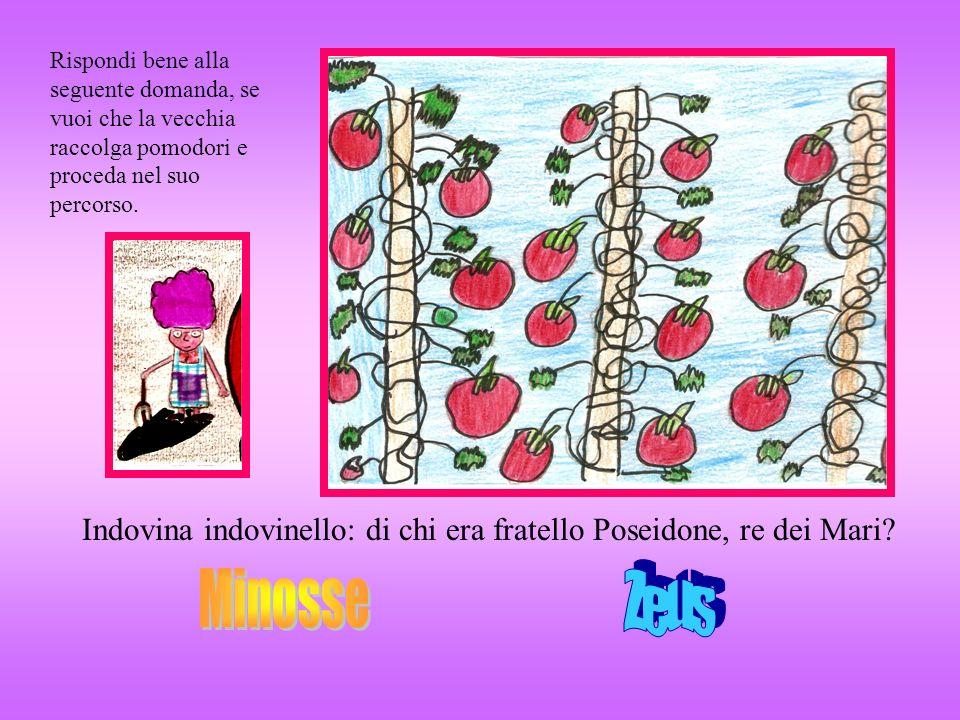Rispondi bene alla seguente domanda, se vuoi che la vecchia raccolga pomodori e proceda nel suo percorso. Indovina indovinello: di chi era fratello Po