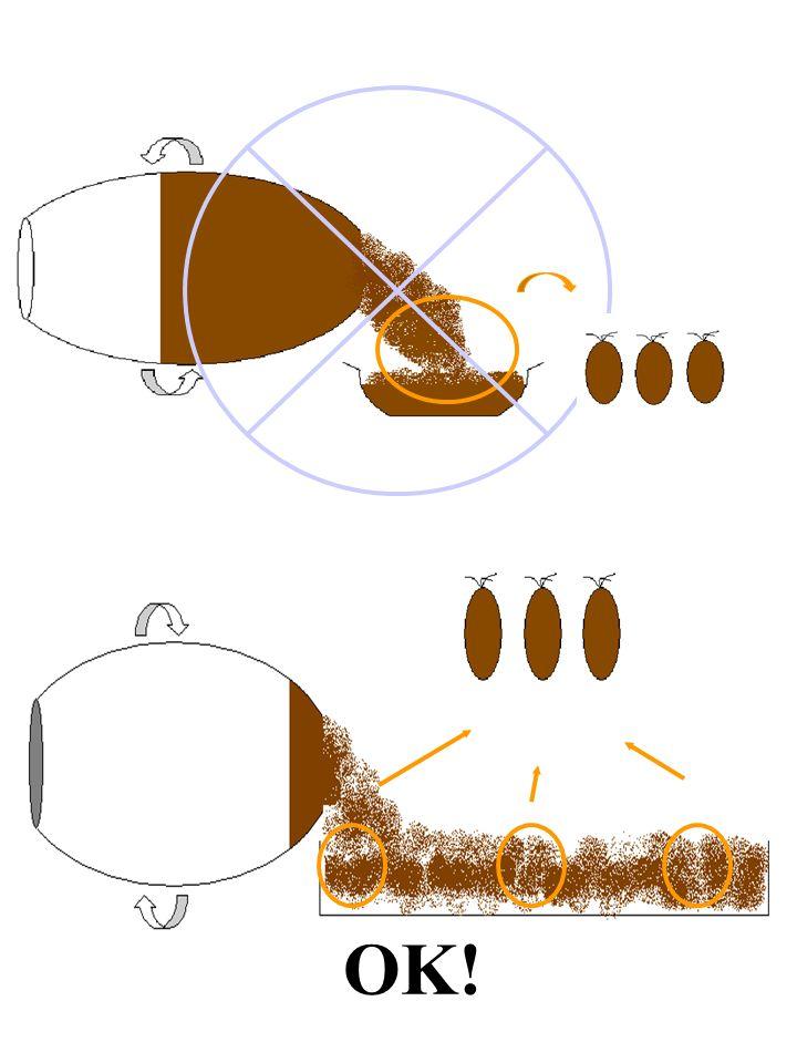 Occorre usare strumenti idonei (esempio: cucchiai, ramaioli, forchette, coltelli, sonde) ISO 950 (cereali - campionamento in grani) ISO 951 (leguminose in sacchi - campionamento) ISO 1839 (tè - campionamento) FIL 50C (latte e prodotti lattiero caseari, metodi di campionamento)