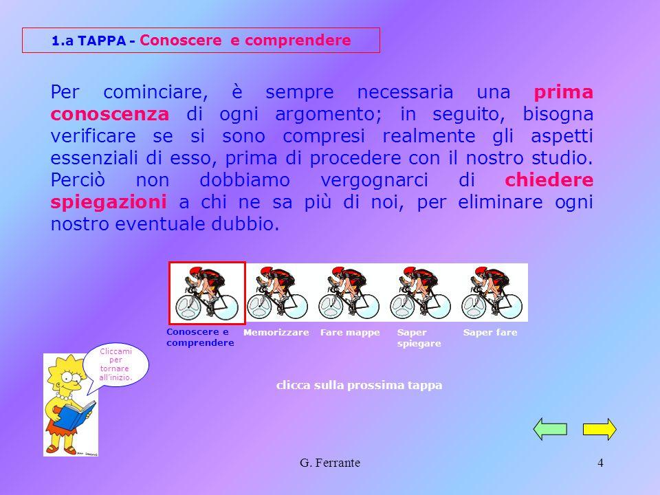 G. Ferrante3 Se cerchi sul vocabolario il verbo