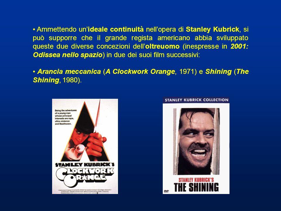 Ammettendo unideale continuità nellopera di Stanley Kubrick, si può supporre che il grande regista americano abbia sviluppato queste due diverse conce