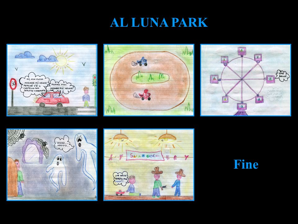 Fine AL LUNA PARK