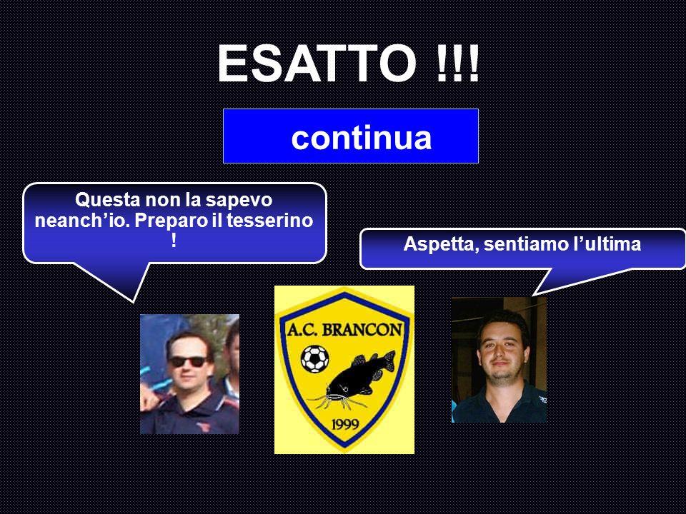 Quanti gol ha subito Paolo Visentini nella stagione 2004 – 2005 ? A : 27 B : 37 C : 31 D : 34 Hai scelto di chiedere a Monica Setta. Forse non la pers