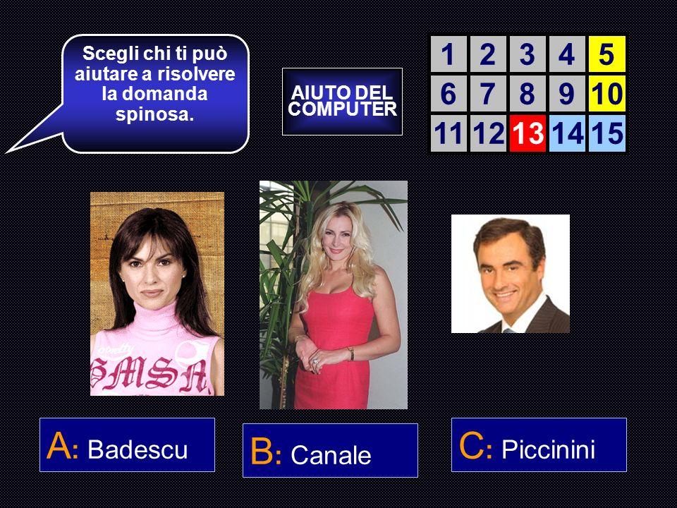 Di che segno zodiacale è il Presidente del Brancon, Livio Muraroli ? A : Acquario B : Pesci C : Capricorno D : Toro Ancora tre risposte e sarai Branco