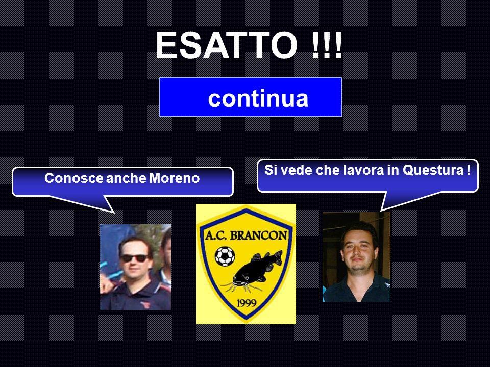 In quale occasione Moreno, storico primo tifoso gialloblu, venne insignito con la cittadinanza onoraria di Brancon ? A : Natale 1999 B : Torneo Branco