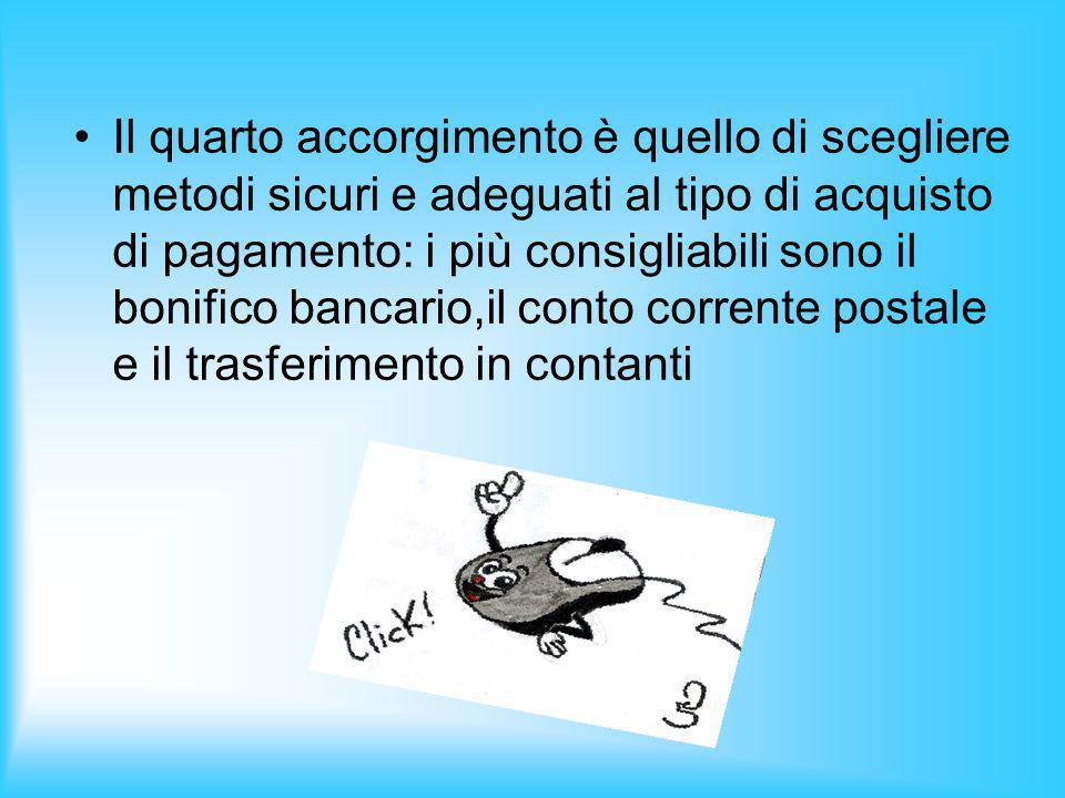 –I–Il terzo consiglio dice di controllare prima di acquistare la descrizione del prodotto fornita dal venditore.