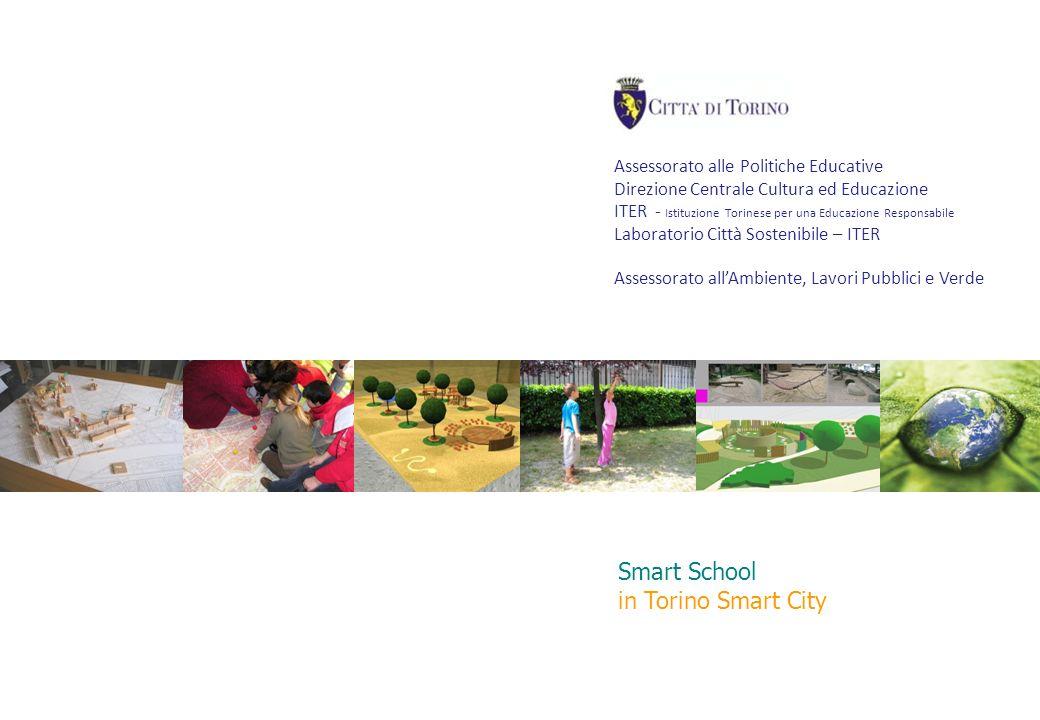 1 LABORATORIO CITTÀ SOSTENIBILE Assessorato alle Politiche Educative Direzione Centrale Cultura ed Educazione ITER - Istituzione Torinese per una Educ