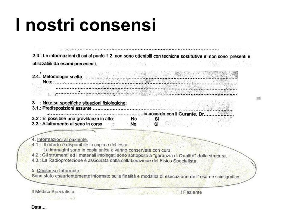 I nostri consensi