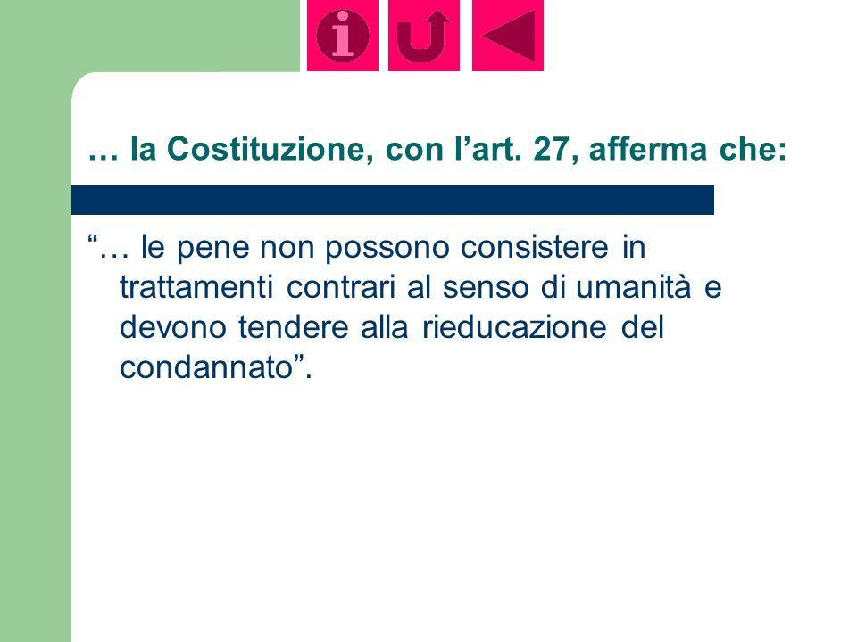 … la Costituzione, con lart.